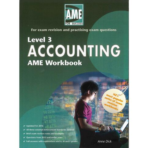 Ncea Year 13 Accounting Workbook