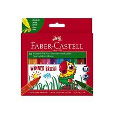 Faber-Castell - Winner Jumbo Brush Marker - Pack of 10