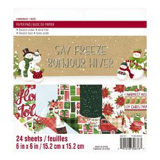 Craft Smith & American Craft Christmas Pads Assorted 6in x 6in