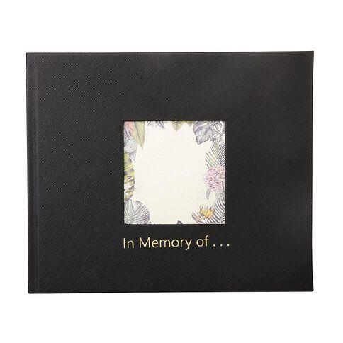 Paper Co Citta Memoriam Book Black