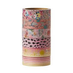 Uniti Washi Tape 6 Pack Tropical