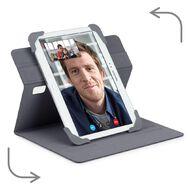 Targus Fit-N-Grip 7-8 Rotating Universal Tablet Case Grey