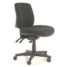 Buro Seating Roma 3 Lever Midback Chair Black