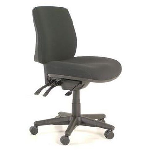 Buro Seating Roma 3 Lever Midback Chair Black