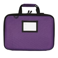 Tech.Inc 14 Inch Hard-Shell Notebook Case Purple