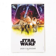 Star Wars 2020 Calendar 210mm x 310mm