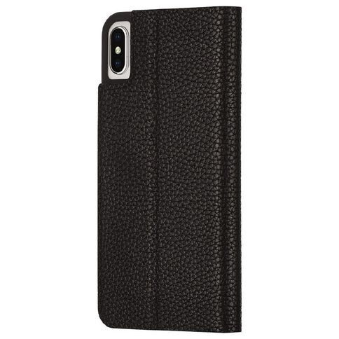 Casemate iphone XS Max Barely There Folio Case Black