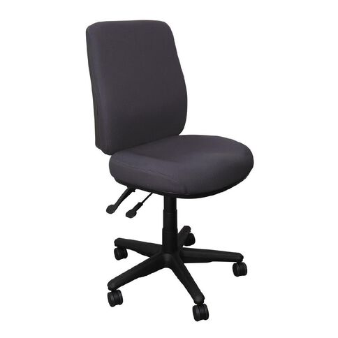 Buro Seating Roma 2 Lever Highback Chair Charcoal
