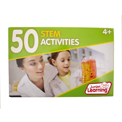Junior Learning 50 Stem Activities