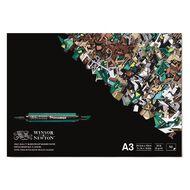 Winsor & Newton Marker Paper Pad Bleedproof 50 Sheets A3
