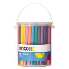 Kookie Felt Pens 100 Pack 100 Pack