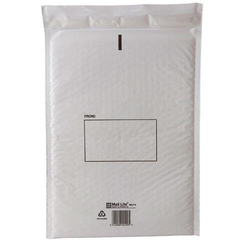 Bubble Mailer Envelope # 4 237 x 340mm White