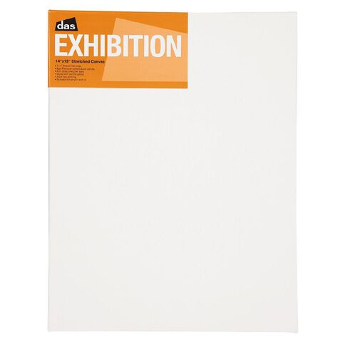 DAS 1.5 Exhibition Canvas 14 x 18in White