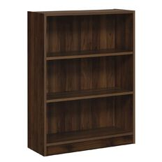 Workspace Soho 3 Tier Bookcase Walnut