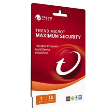 Trend Micro Max Security 1 Device 12 Month