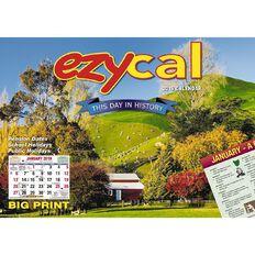 Calendar 2019 Wall Ezy Cal 304mm x 215mm