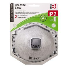 Esko P2 Respirator with Valve & Carbon Filter 2 Pack