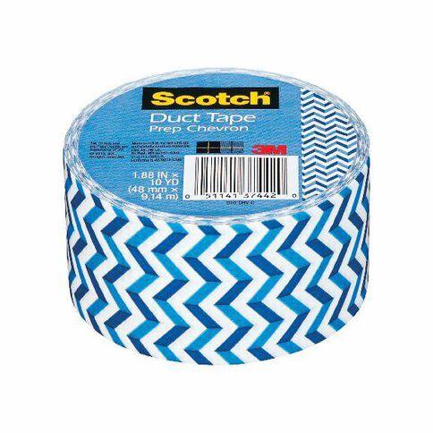 Scotch Duct Craft Tape 48mm x 9.14m Chevron