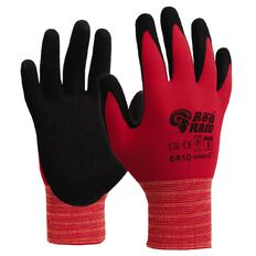 Esko Red Ram Glove Red Polyamide Latex Coat Black XL