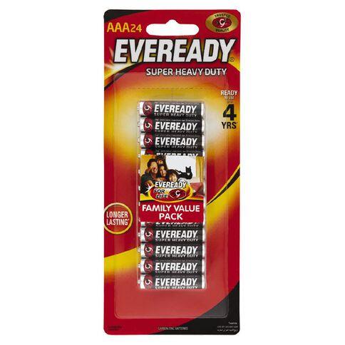 Eveready SHD AAA 24Pk