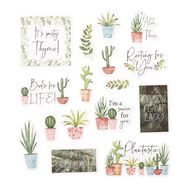 Uniti Plant Lady Die Cut Shapes