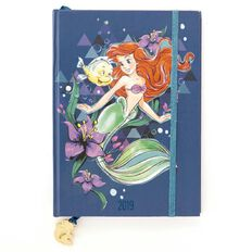 Disney Diary 2019 Day to Page Little Mermaid A5