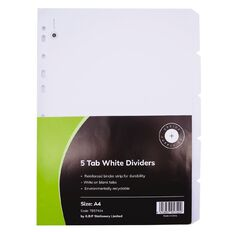 Office Supply Co 5 Tab Wide Dividers
