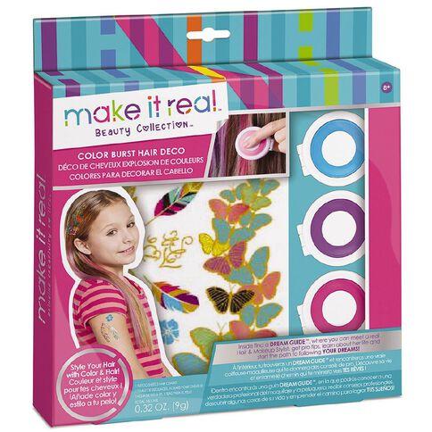 Make It Real Kit Colour Burst Hair Deco