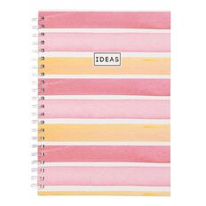 Uniti Water Colour Hardcover Notebook Spiral A4