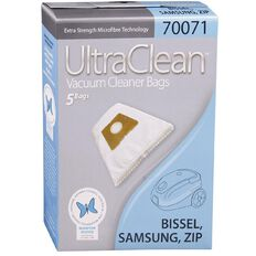 Vacuum Bags For Samsung/Bissel/Zip 5 Pack