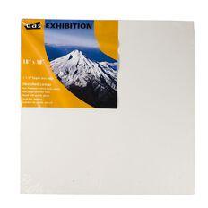 DAS 1.5 Exhibition Canvas 18 x 18in White