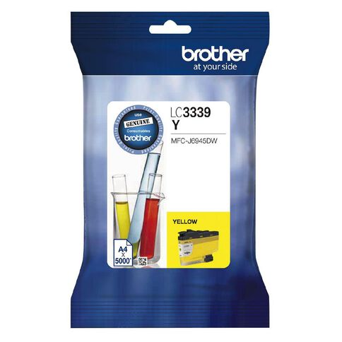 Brother Ink LC3339XLY Yellow (5000 Pages)