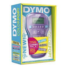 Dymo Label Maker Colour Pop Labelling Machine Value Pack Bundle