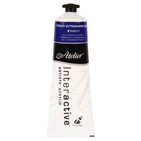 Atelier S2 80ml French Ultramarine Blue