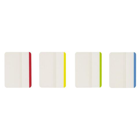 Impact Coloured Sticky Tabs 38mm x 50mm 6 Sheet 4 Pack