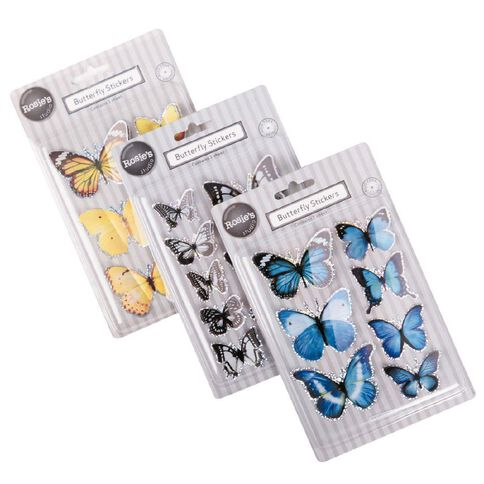Rosie's Studio Butterfly Embellishment Assorted