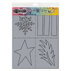 Ranger Dylusions Stencil Shapes Large
