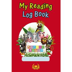 GT My Reading Log Junior Red