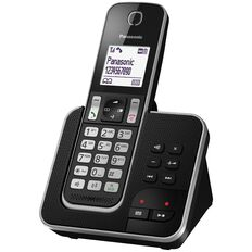 Panasonic Kx-Tgd320Nzb Cordless Phone Black