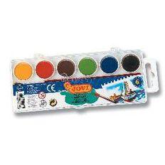 Jovi Watercolours 6 Pack Multi-Coloured