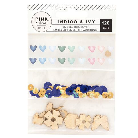 Indigo & Ivy Indigo and Ivy Mixed Gold Foil and