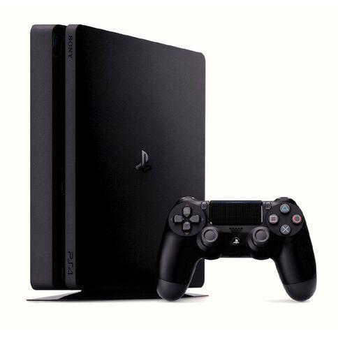 PS4 Console Slimline 500GB Black