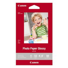 Canon Photo Paper 4x6 Glossy 50 Pack