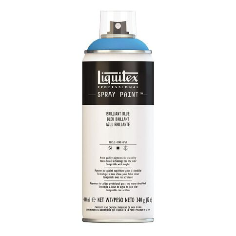 Liquitex Spray 400ml Brill Blue Blue