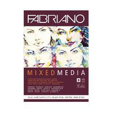 Fabriano Mixed Media Art Pad 250GSM 40 Sheets A4