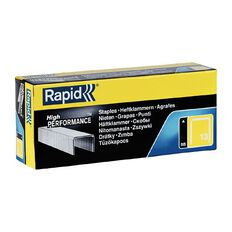 Rapid Staples 13/6 5000 Pack Silver