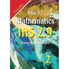 Nulake Year 12 Mathematics Ias 2.9 Statiscal Inference