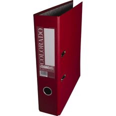 Eastlight Colorado Lever Arch Quickfile Red A4