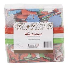 Wonderland Festive Foam Sticker Box
