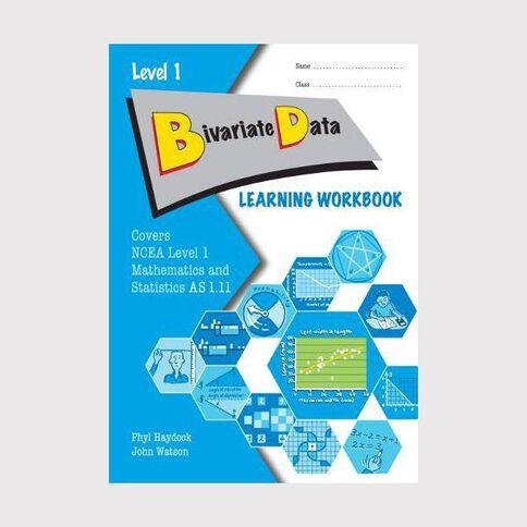 Ncea Year 11 Bivariate Data As1.11 Learning Workbook